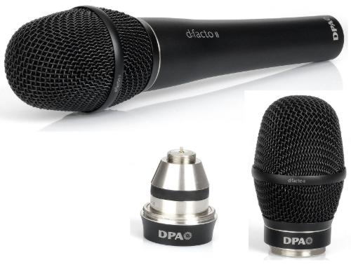 DPA d:facto II vocal microphone - head and adapter