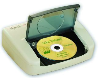 Primera launches affordable high quality cd dvd printer for Dvd sticker printing