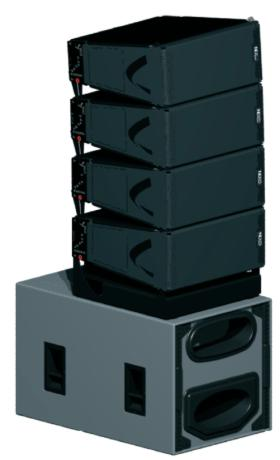 Nexo launches Geo D array system at prolight+sound 2006 in