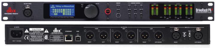 Dbx Driverack Pa2 Loudspeaker Management For Portable Pa